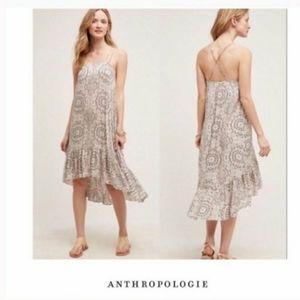 Anthropologie Eloise Verana Hi Lo Midi Dress XS